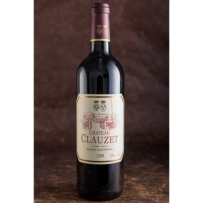 BORDEAUX ROUGE SAINT-ESTEPHE CHATEAU CLAUZET 2008