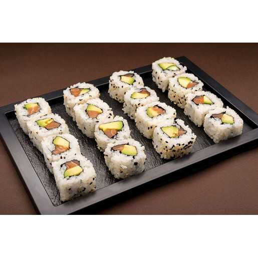 MAKI CALIFORNIA AVOCAT SAUMON 16P